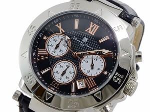 サルバトーレマーラ クオーツ メンズ クロノ 腕時計 時計 SM8005S-SSBKPGWH