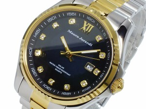 マウロ ジェラルディ MAURO JERARDI ソーラー メンズ 腕時計 MJ037-2 ブラック【送料無料】