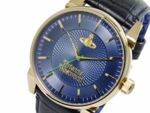 ヴィヴィアン ウエストウッド VIVIENNE WESTWOOD フィンズバリー クオーツ メンズ 腕時計 VV065NVBK【送料無料】【楽ギフ_包装】
