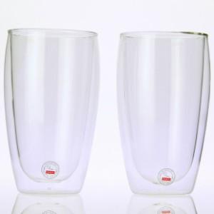 bodum ボダム ダブルウォールグラス 0.45L 2個セット PAVINA 4560-10US