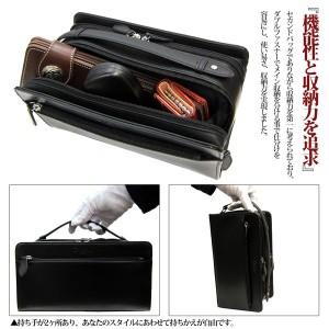 マトゥーリ Maturi コードバン 馬革 ダブルファスナー Wファスナー セカンドバッグ MT-14【送料無料】