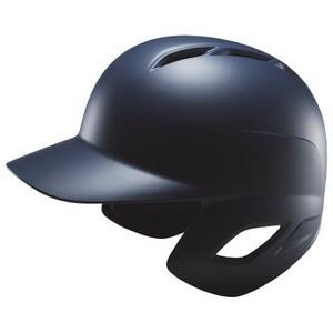 ZETT(ゼット) BHL371 軟式打者用ヘルメット(つや消し) ネイビー XO(61〜62cm)【送料無料】