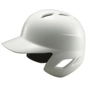 ZETT(ゼット) BHL570 ソフトボール打者用ヘルメット ホワイト S(53〜55cm)