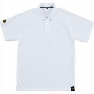 ZETT(ゼット) ポロシャツ(ポケット無し) ホワイト BOT81 1100 サイズ:2XO 野球&ソフト ポロシャツ