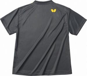 バタフライ(Butterfly) 男女兼用Tシャツ グラデイト・Tシャツ 45090 【カラー】チャコール 【サイズ】XO