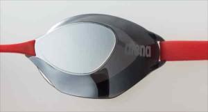 ARENA(アリーナ) くもり止めスイミンググラス ノンクッションタイプ AQUAFORCE SWIFT(ミラー加工) AGL130M 【カラー】シルバー×スモーク