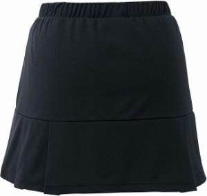 GOSEN(ゴーセン) S1601 レディーススカート S1601 【カラー】ブラック 【サイズ】LL【送料無料】