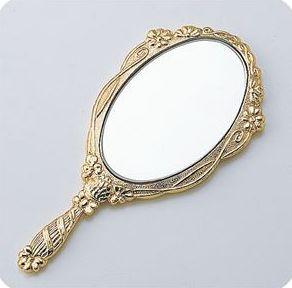 七宝素材 手鏡 37646