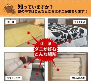 防ダニ ダニ 対策 簡単 清潔 マット 置くだけ ダニゼロック どこでも使えるダニ粘着シート ベビー 子供 布団用 25×15cm 代引不可