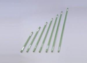 アイリスオーヤマ 園芸支柱 イボ付(太さ16mm) 5本セット 支柱 グリーン ES-1627×5(代引き不可)