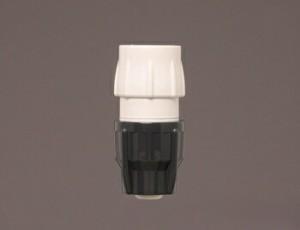 アイリスオーヤマ 耐圧ワンタッチコネクターΦ15-18 散水パーツ ホワイト/グレー SGP-20D(台紙あり)(代引き不可)【送料無料】