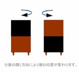 収納棚 リビング収納 キャビネット クリエ 幅45cm高さ90cm リビング収納家具 収納キャビネット 戸棚 リビング収納棚(代引不可)【送料無料
