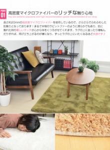 ラグ 長方形 滑り止め 洗える 北欧 マット カーペット シャギーラグ 絨毯 じゅうたん Feeno 185×185cm Square type(代引不可)【送料無料