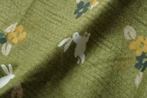 和柄 こたつ布団カバー 正方形 『こよみ』 ローズ 215x215cm(代引不可)【送料無料】