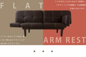 ソファベッド 肘掛リクライニングソファベッド ソファ ベッド リクライニングベッド リクライニングソファ 肘付き 肘掛(代引不可)【送料