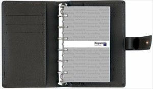 レイメイ藤井 キーワード ポケットサイズ システム手帳(リング15mm) WWP5007B