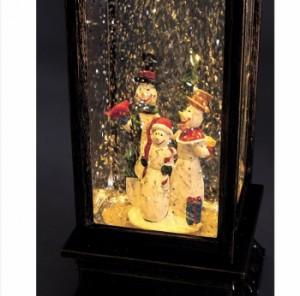 クリスマス トゥインクル LEDレクトランタン KCXG3230 ランタン LED スノードーム おしゃれ 雑貨(代引不可)【送料無料】