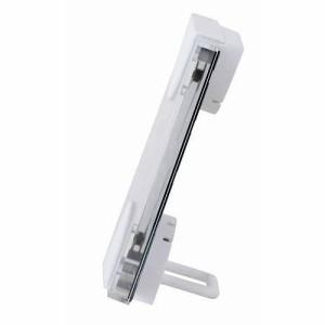 EMPEX (エンペックス) 温度・湿度計 エルムカラー スクエア型 置き掛け兼用 LV-4955 レッド