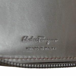 Salvatore Ferragamo サルヴァトーレフェラガモ 長財布 66-9312ブラック 財布(代引不可)【送料無料】