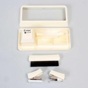 サンコー キートップ型文具セット(ホワイト) RAMA12G13(代引き不可)