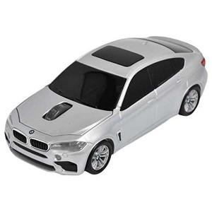 LANDMICE BMW X6シリーズ 無線カーマウス 2.4Ghz 1750dpi シルバー BM-X6M-SV