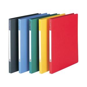 (まとめ) ビュートン クランプファイル A4タテ 100枚収容 背幅17mm イエロー SCL-A4-Y 1セット(10冊) 【×2セット】