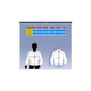 空調服 ポリエステル製長袖ブルゾン P-500BN 【カラー:ネイビー サイズ M】 リチウムバッテリーセット