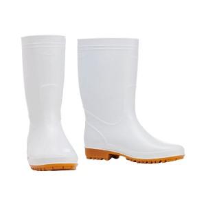 (まとめ) 川西工業 耐油衛生長靴 ホワイト 25.5cm 8300ホワイト25.5 1足 【×3セット】