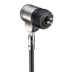 バッファロー(サプライ) ピンシリンダー錠ワイヤーロック(統一キー対応) 統一キーNo.1 BSL05S01