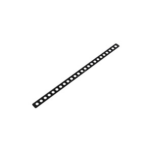 (まとめ) 取付金具(黒) S742 【×20セット】