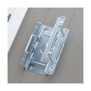 (まとめ) TANOSEE 両開きパイプ式ファイル A4タテ 500枚収容 背幅66mm 青 1セット(10冊) 【×2セット】
