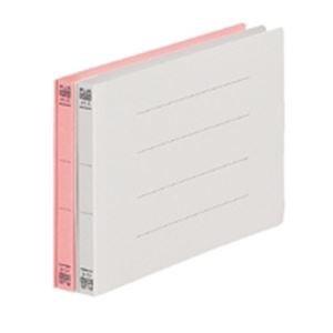 (業務用50セット) プラス フラットファイル 紙バインダー 2穴 042N A5E 桃 10冊 ×50セット