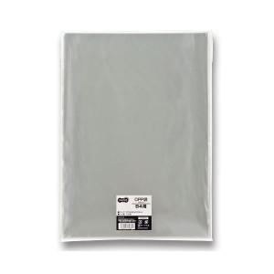 (まとめ) TANOSEE OPP袋 フラット B4用 270×380mm 1パック(100枚) 【×5セット】