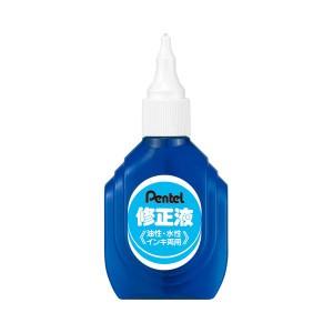 (まとめ) ぺんてる 修正液 油性・水性インキ両用 ZL1-WK 1セット(10本) 【×2セット】