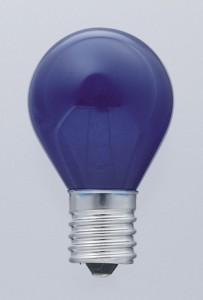ELPAカラーS型ミニ球25G-20H(BL)