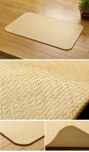 インドネシア産 籐あじろ織りマット 『宝麗』 90×180cm【送料無料】【代引き不可】