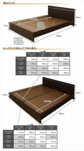 パネル型ラインデザインベッド セミシングル SGマーク国産ボンネルコイルマットレス付 ホワイト 284-01-SS(10816B)【代引不可】