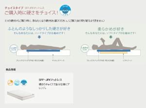 ASLEEP アスリープ スーパーフレックスフィット マットレス ワイドダブル WARM SFF-NSXモワルーハード F8415MS アイシン精機(代引不可)【