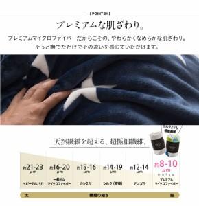 mofua モフア プレミアム マイクロファイバー敷パッド(キングサイズ)【送料無料】