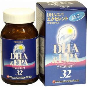 DHAエパエクセレント32(日本製) /40点入り(代引き不可)