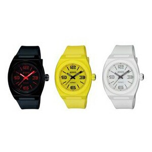 【RISNY】リスニー 電子マネー搭載腕時計 [男女兼用] アナログ表示 日常生活用防水 /5点入り(グリーン)(代引き不可)【送料無料】