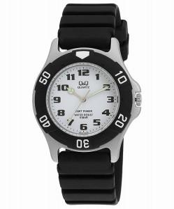シチズン Q&Q 腕時計 キューアンドキュー ウォッチ 腕時計 SOLARMATE (ソーラーメイト) ソーラー電源 アナログ表示 10気圧防水 ホワイト