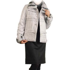 レッキスファートリミング1点限りレザージャケット人気送別会ブランドレディース母の日ギフト(No.2270-41)