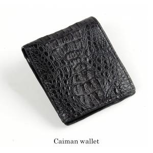 カイマン折り財布財布サイフwallet皮本革二つ折り三つ折り人気送別会レディース女性用母の日ギフト(No.9556)