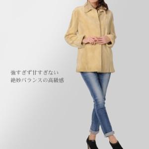 【訳ありアウトレット】シェアードミンクジャケット69cm丈母の日ギフト(No.103124)