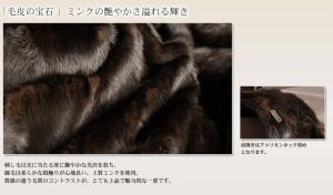 ファーファージャケットファーコート毛皮本皮革人気送別会大判レディース女性用(No.8355br)
