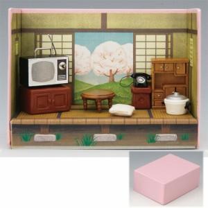 昭和の小箱 春 置物 かわいい 陶器 せともの 縁起物 厄除け