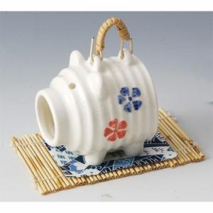 ブタ香炉 置物 かわいい 陶器 せともの 縁起物 厄除け