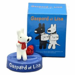 リングホルダー(リサ) リサとガスパール プレゼント ギフト せともの 陶器 キャラクター