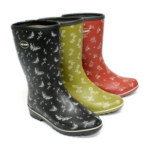 ガーデニング 作業ブーツ 防水 防水仕様 マイローズ #19 ガーデンブーツ22.5-25.0cm